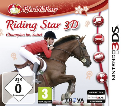 Riding Star 3D - Champion im Sattel 3DS coverM (ARSP)