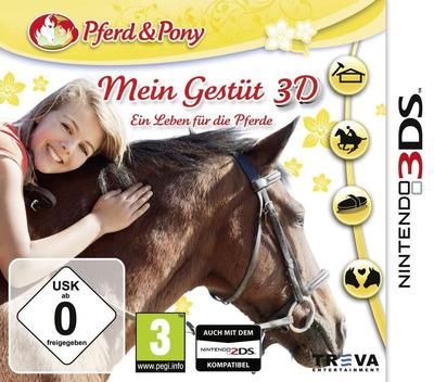 Mein Gestüt 3D - Ein Leben für die Pferde 3DS coverM (BMGP)