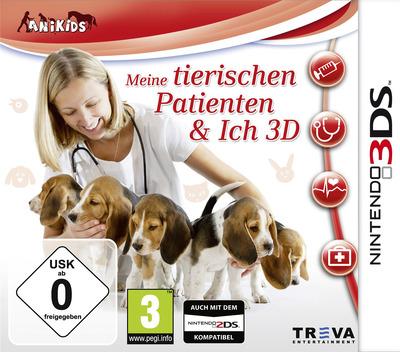 Meine tierischen Patienten & Ich 3D 3DS coverM (BMTP)
