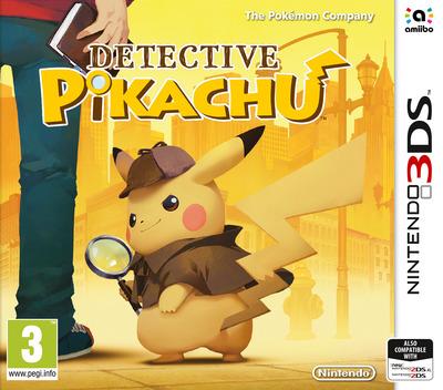 Detective Pikachu 3DS coverM (A98P)