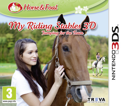 My Riding Stables 3D - Jumping for the Team 3DS coverM (AAPP)