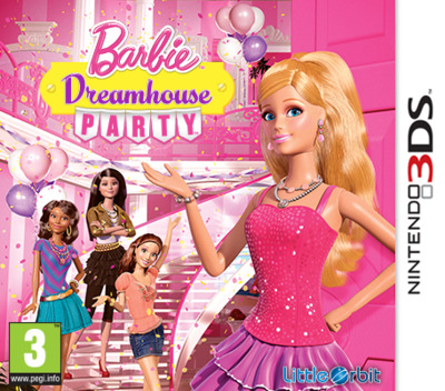 Barbie Dreamhouse Party 3DS coverM (AAVP)