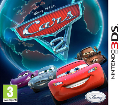 Cars 2 3DS coverM (AAZP)