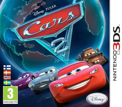 Cars 2 3DS coverM (AAZZ)