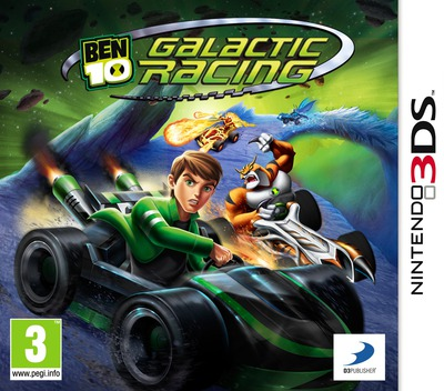 Ben 10 - Galactic Racing 3DS coverM (ABNP)