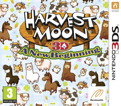 Harvest Moon 3D - A New Beginning 3DS coverM (ABQP)