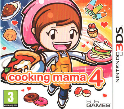Cooking Mama 4 3DS coverM (ACQP)