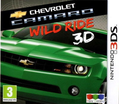Chevrolet Camaro - Wild Ride 3D 3DS coverM (ACWP)