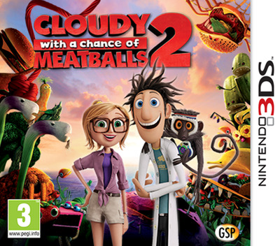 Cloudy with a Chance of Meatballs 2 3DS coverM (AD5Z)