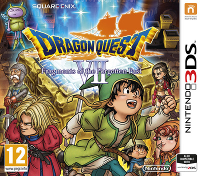 Dragon Quest VII: Fragments of the Forgotten Past 3DS coverM (AD7P)