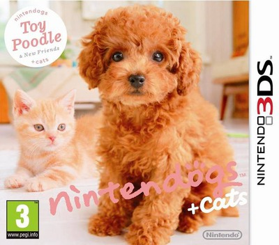 Nintendogs + Cats - Toy Poodle & New Friends 3DS coverM (ADCP)
