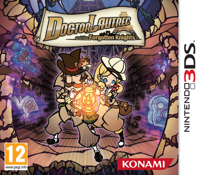 Doctor Lautrec and the Forgotten Knights 3DS coverM (ADLP)