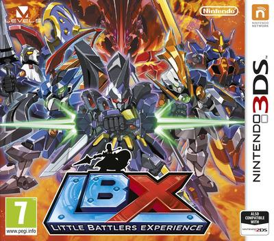 LBX - Little Battlers eXperience 3DS coverM (ADNP)