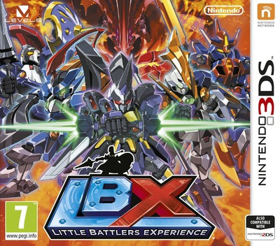 LBX - Little Battlers eXperience 3DS coverM (ADNZ)