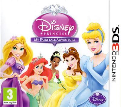 Disney Princess - My Fairytale Adventure 3DS coverM (ADPP)
