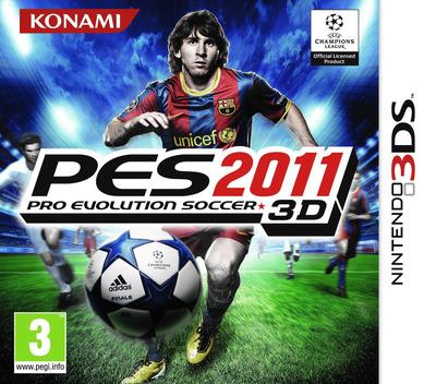 Pro Evolution Soccer 2011 3D 3DS coverM (AEEI)