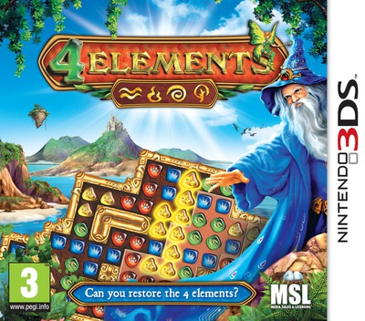 4 Elements 3DS coverM (AELP)
