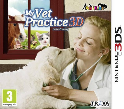 My Vet Practice 3D - In the Country 3DS coverM (AERP)