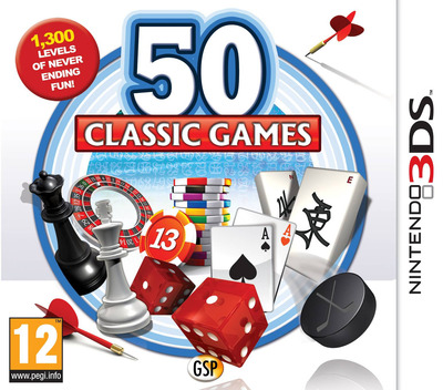 50 Classic Games 3DS coverM (AF6P)