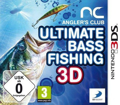 Angler's Club - Ultimate Bass Fishing 3D 3DS coverM (AFDP)