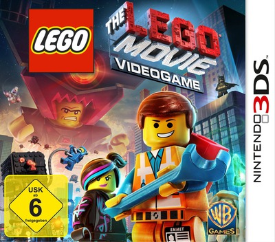 The LEGO Movie Videogame 3DS coverM (AFJD)