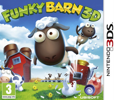Funky Barn 3D 3DS coverM (AFMP)