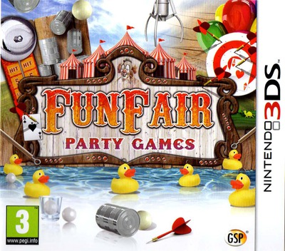 Funfair Party Games 3DS coverM (AFNP)