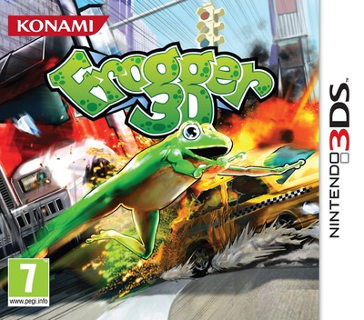 Frogger 3D 3DS coverM (AFRP)