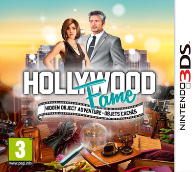 Hollywood Fame - Hidden Object Adventure 3DS coverM (AFXP)