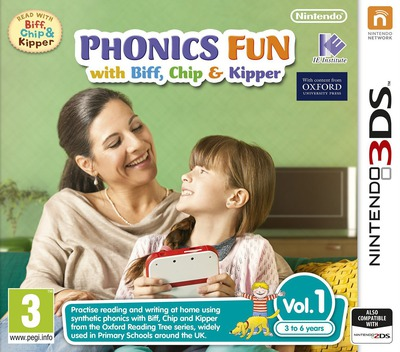 Phonics Fun with Biff, Chip & Kipper Vol. 1 3DS coverM (AFZP)