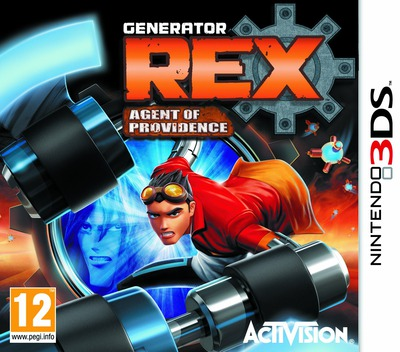 Generator Rex - Agent of Providence 3DS coverM (AGXP)