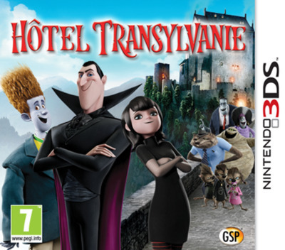 Hotel Transylvania 3DS coverM (AH8F)