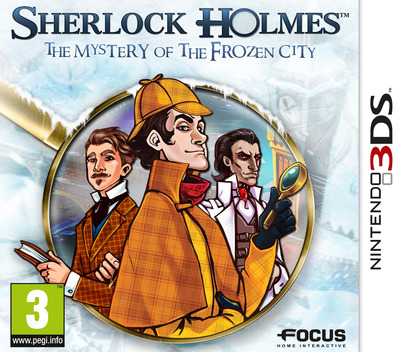 Sherlock Holmes - The Mystery of the Frozen City 3DS coverM (AHAP)