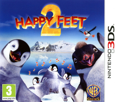 Happy Feet 2 3DS coverM (AHFP)