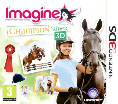 Imagine - Champion Rider 3D 3DS coverM (AHSP)