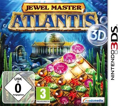 Jewel Master - Atlantis 3D 3DS coverM (AJ5X)