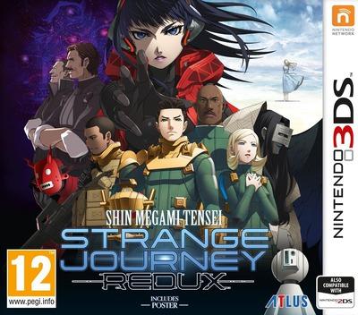 Shin Megami Tensei: Strange Journey Redux 3DS coverM (AJ9P)