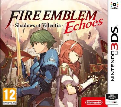 Fire Emblem Echoes: Shadows of Valentia 3DS coverM (AJJP)