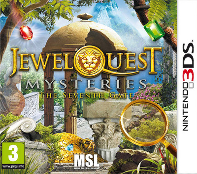 Jewel Quest Mysteries - The Seventh Gate 3DS coverM (AJQP)