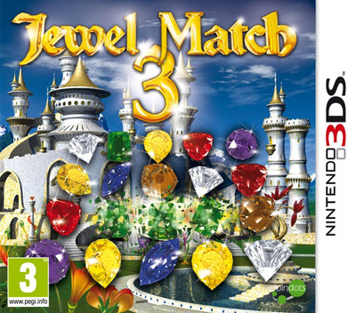 Jewel Match 3 3DS coverM (AJUP)