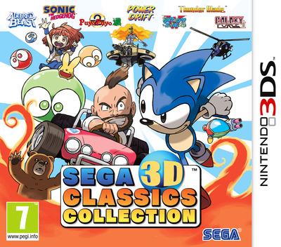 SEGA 3D Classics Collection 3DS coverM (AK3P)
