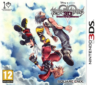 Kingdom Hearts 3D - Dream Drop Distance 3DS coverM (AKHP)