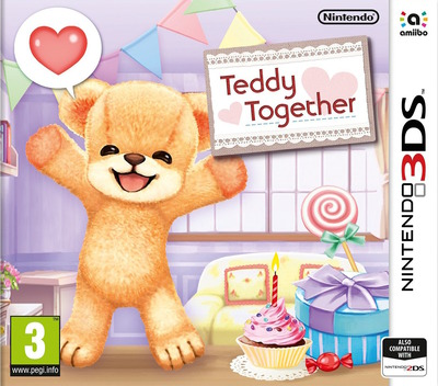 Teddy Together 3DS coverM (AKMP)