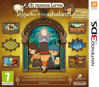El Profesor Layton y el Legado de los Ashalanti 3DS coverM (AL6S)