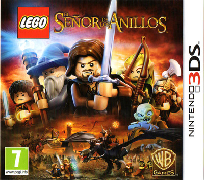 LEGO The Lord of the Rings 3DS coverM (ALAS)