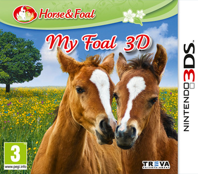 My Foal 3D 3DS coverM (AM3Z)