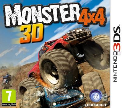 Monster 4x4 3D 3DS coverM (AM4P)