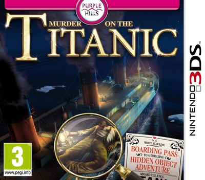 Murder on the Titanic 3DS coverM (AM8P)