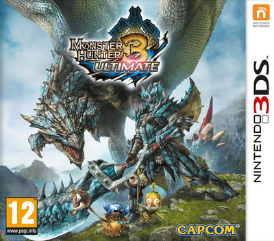 Monster Hunter 3 Ultimate 3DS coverM (AMHP)