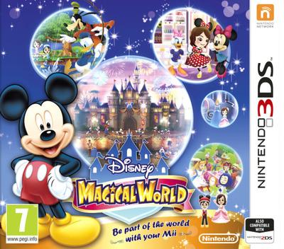 Disney Magical World 3DS coverM (AMQP)